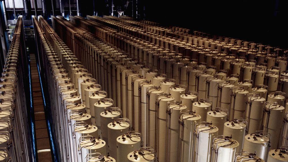 1980s-Piketon-centrifuges-cascade