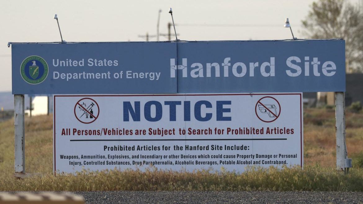 hanford radiation notice