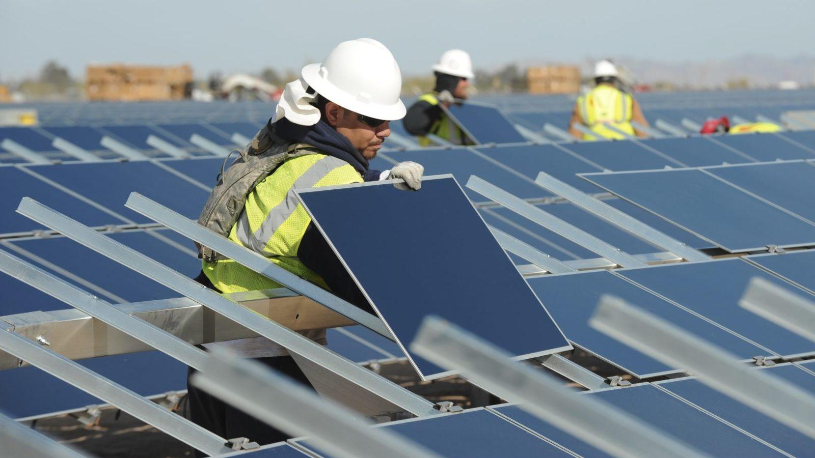 first solar technicians