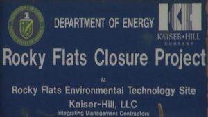 rocky flats sign